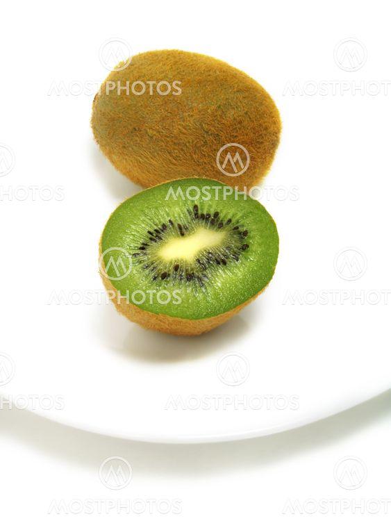 Halv og hel Kiwifrugter