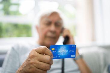 Elder Scam Call And Senior Pension Fraud
