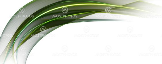 Abstract eco wave panorama background design illustration
