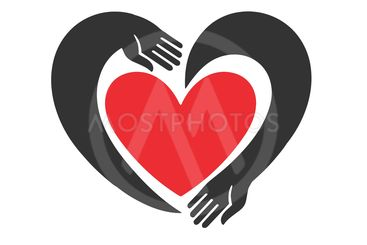 Hands forming a heart symbol