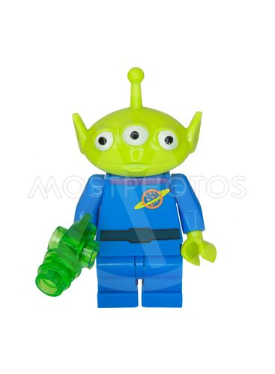 Little Green Alien Minifigure