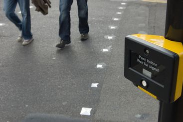 Pedestrian Crossing and Sign