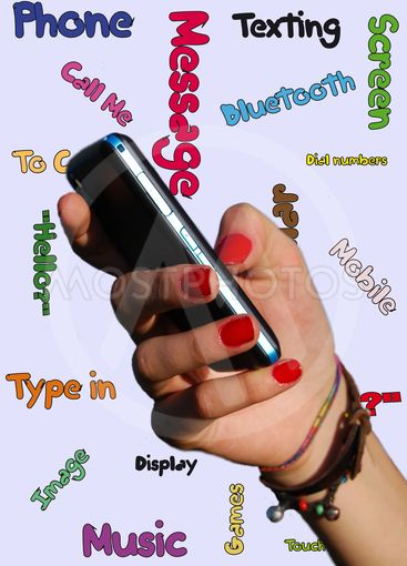 Phone in the adolescent hand 2