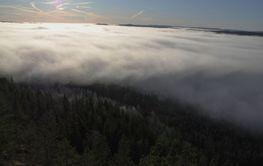 låga moln