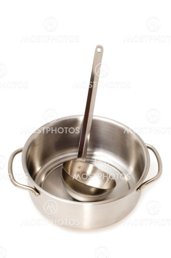 Metal pan med lavværdisegmentet