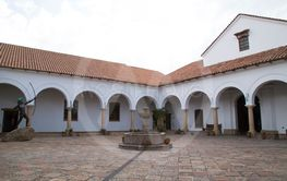 The courtyard of  the House of Freedom, Sucre, Bolivia