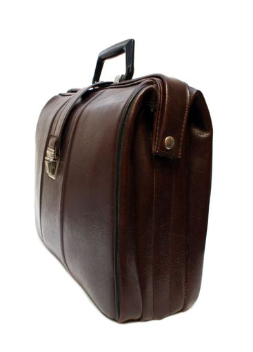 old brown leather case