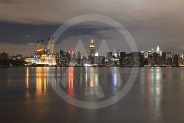 Manhattan following Power Outage