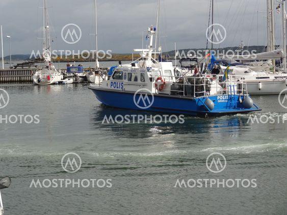Police boat combat boat 90