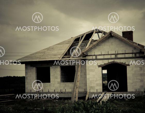 buliding of a house