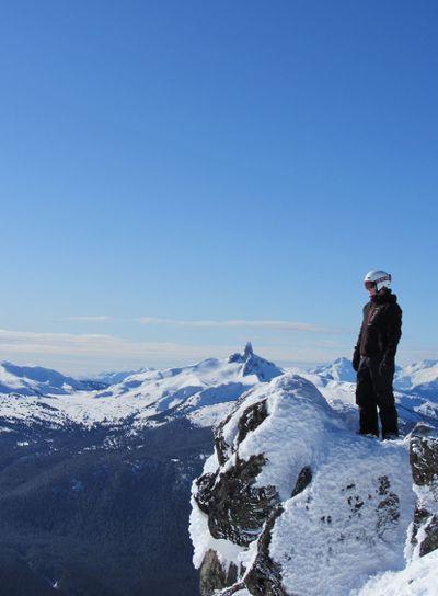 Whistler, on the edge