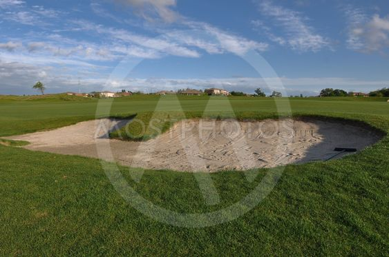 Sand Trap on Golf Course