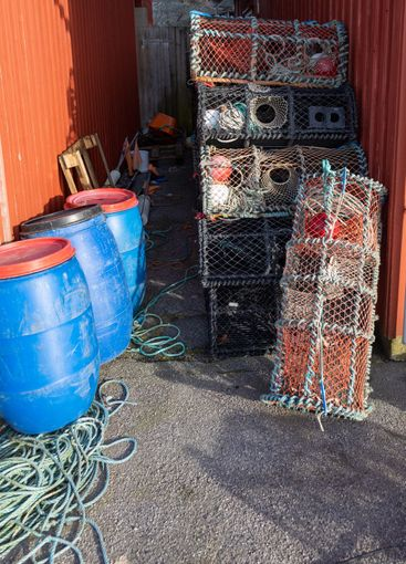 Fishing equipment and cages