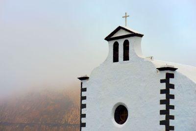 spain,canary islands,lanzarote :  church