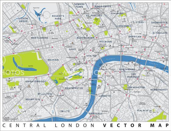 Andrius Repsys N Kuva Lontoon Kartta Mostphotos