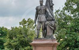 Monument to Tsar Nicholas II, Belgrade, Serbia