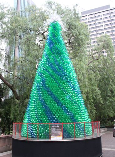 Recycling christmas tree