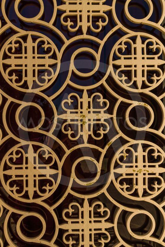 Background pattern taken from a Greek orthodox church
