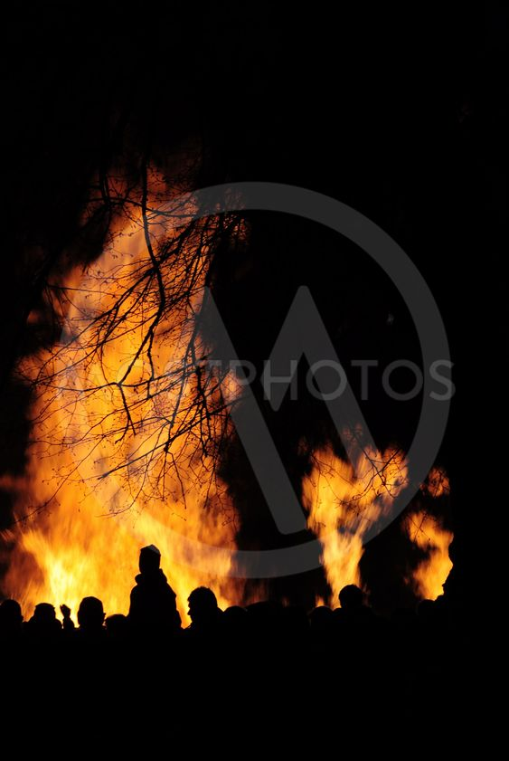 Bonfire, last of april