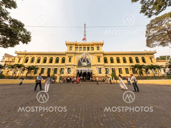 View on The Saigon Central Post Office