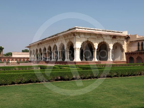 Building inside the Red Fort, Agra, India