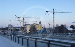 Byggkranar Skellefteå