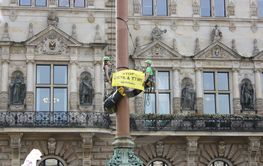 Greenpeace protest against TTIP and CETA