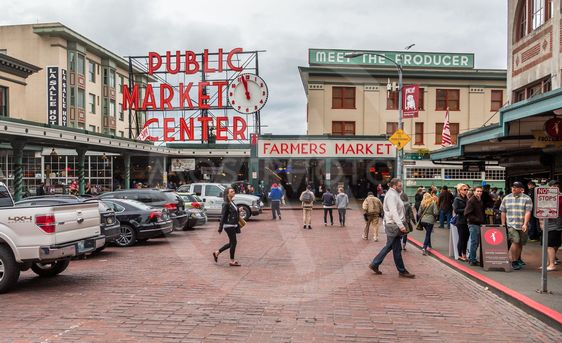 Pike Street and First Avenue