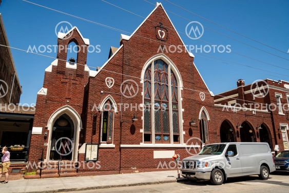 The historic Charleston City Market. As one of the...