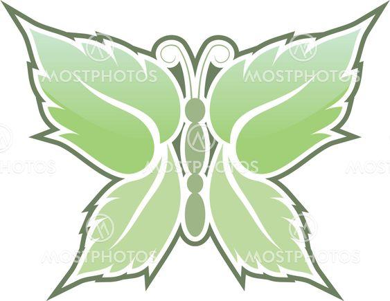 Mint butterfly