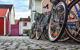 Låsta Cyklar