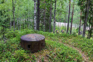 Skans 179, WW II defensive mound.