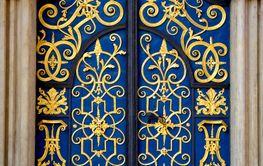 Old decorativ doorway.