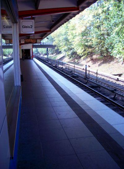 Land metro station