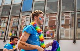 Moderaterna på Pride 10