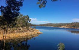 Sawyers valley in Western Australia, Lake CY o Connor