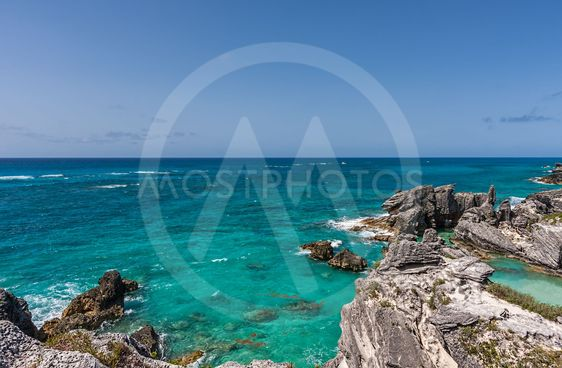 Horseshoe Bay in Bermuda