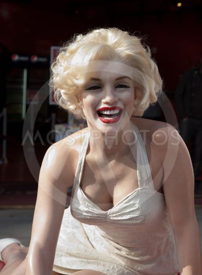 Wax figure of Marilyn Monroe