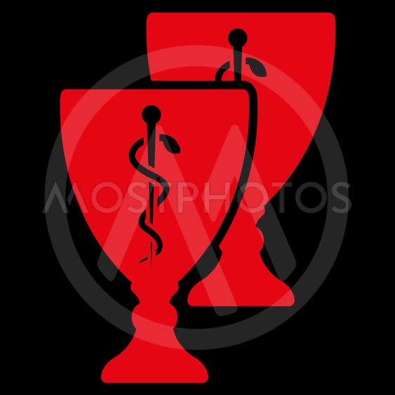 Medical Cups Icon