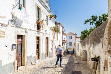 Street view Lagos, Algarve in Portugal