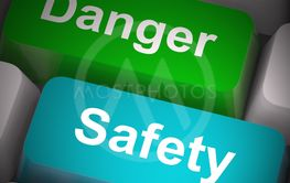 Safety key means protection and safeguard against Hazard...