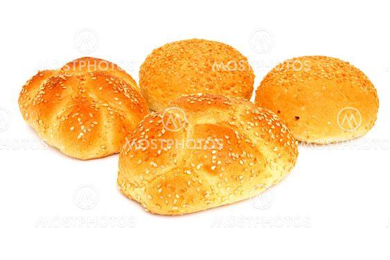 Färskt vitt bröd