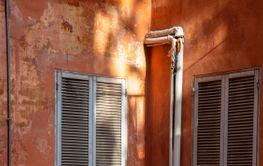 Balkong i Rom