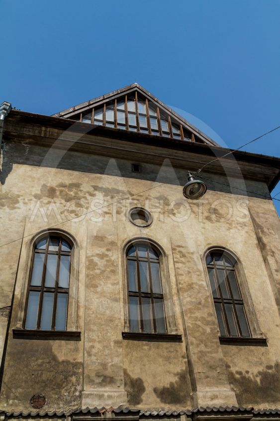 Krakow - a unique architecture in the old Jewish district...