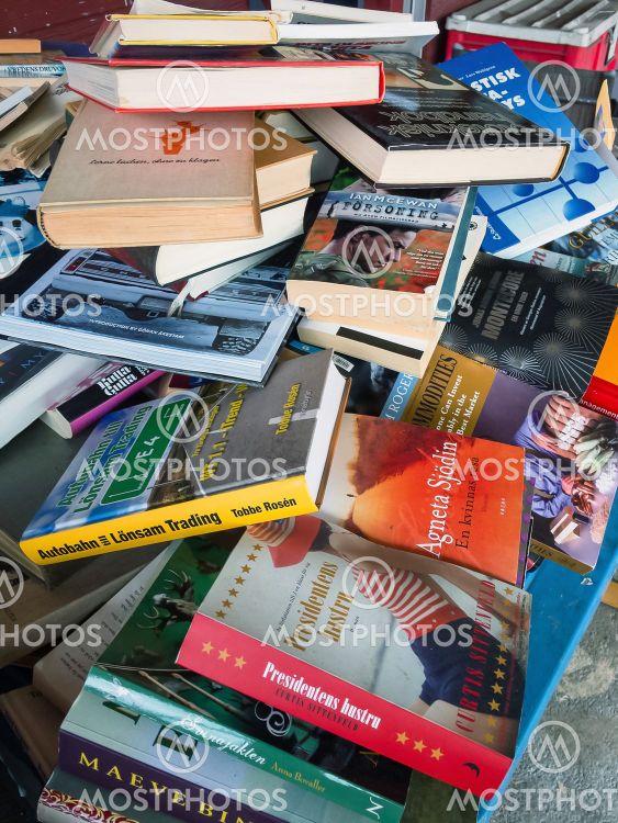 Böcker för återvinning