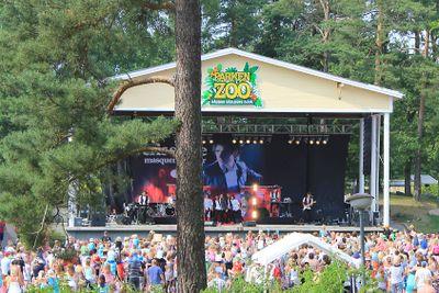 Eric Saade i Parken Zoo