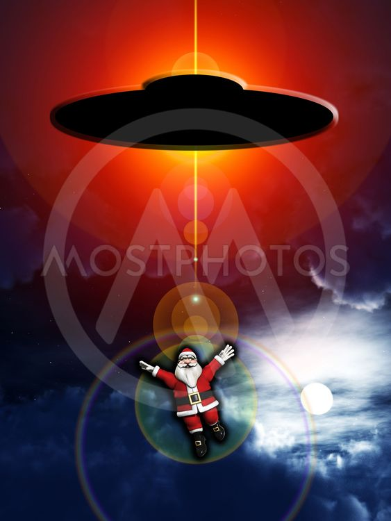 Alien Abducted Santa Claus