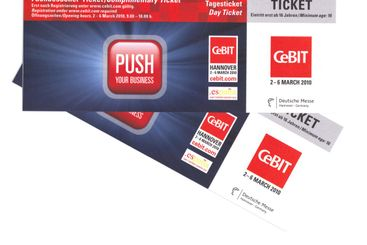 Day Ticket for Cebit in Hannover, Germany