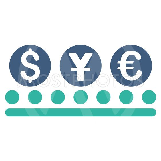 Money Conveyor Flat Vector Icon