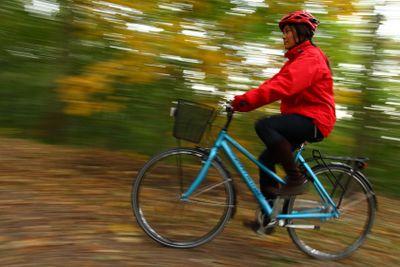 Autumn biking